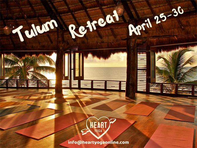 Heart Yoga Tulum Yoga Retreat